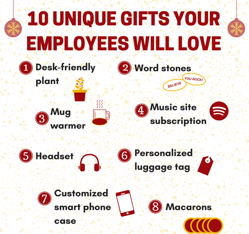 Infographic: Unique and Creative Gifts