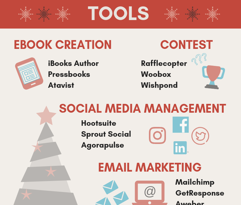 Infographic: Holiday Online Marketing Tools and Tactics
