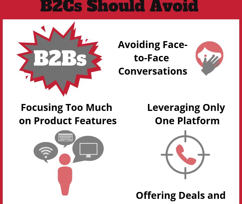 Infographic: Sales Pitfalls