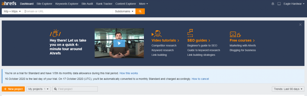 virtual personal assistant ahrefs